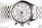 Mens IWC Flieger Chronograph Automatic IW3706-026 Amazing Silver Dial with Box