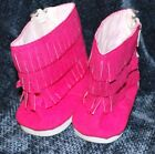 American Girl Doll Boots HOT PINK New