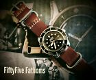 Seiko Automatic Fifty Five Fathoms Mod Dive Watch SNZH57 (Blancpain Homage)
