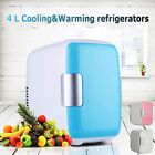 Portable Mini 4L Refrigerator Fridge Cooler Warmer Auto Car Boat Home Office