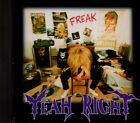 YEAH RIGHT Freak RARE ORIGINAL INDIE CD Jynx Alone Fairground Lights Sphera