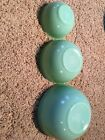 Fire King Jadite Jadeite (Numbered 7, 13, and 28) Nesting Bowls Smooth Finish
