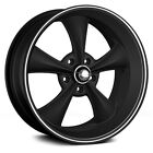 20 x10 Ridler 695 695MB Black 5x45 38 ET 695 2165MB38 4 Rims