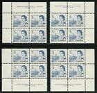 Canada 1967 5c Centennial Issue Plate 4 Matched Set UCS 458 MNH