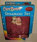Heirloom Pink Care Bear Snowman Holiday Ornament Set missing 2