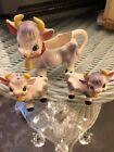 VINTAGE COWS Creamer SALT AND PEPPER SHAKERS MADE IN JAPAN
