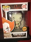 Funko Pop! Movies: IT: Pennywise with Boat #472 Limited Edition CHASE