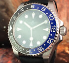 BIG SIZE ULYSSE NARDIN DIVER SUBMARINER AUTOMATIC WATCH ROTARY BEZEL SCREW BACK
