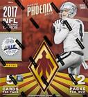 2017 Panini PHOENIX NFL Football HOBBY BOX Factory Sealed New w 2 AUTO