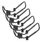 2 Pairs Folding Kayak Carrier J Style Canoe Rack Snowboard Roof Top Mounted New