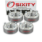 4pc 2 Wheel Spacers for Honda Accord Civic CRV Adapters Lugs Studs 5x1143 qf
