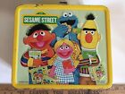 Vintage 1979 Aladdin Sesame Street Metal Lunch Box with Thermos