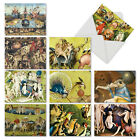 M6468OCB Hieronymus Bosch 10 Assorted Blank All Occasion Note Cards Envelopes