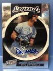 2018 PANINI THE NATIONAL NSCC DON MATTINGLY AUTO REFRACTOR SIGNATURE SILVER PACK