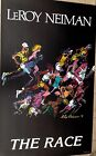 "1979 LeRoy Neiman ""The Race"" Litho Poster of Serigraph, 38x23"", Vintaage, Great"