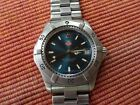 Tag Heuer 2000 series rare sunburst blue dial quartz 200M men's watch WK1119