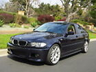 2004 BMW 3 Series Supercharged 330i 285+ hp BBS Wheels Oriental Blue 30k+ in Receipts New Suspension Long Term Ownership
