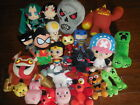 GAME TV PLUSH MIXED LOT MINCRAFT SKYLANDER FREDDYS +HEROES & MORE EXCELLENT USED