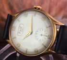 BEAUTIFUL  VINTAGE PIAGET WATCH IN GOLD PLATED CASE FROM 1955