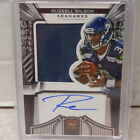 2012 Panini Crown Royale Russell Wilson Seahawks Jersey Relic Auto #146 149