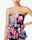 NWT ISLAND ESCAPE SWIM MONTAGE TIERED SKIRTED SWIMSUIIT TANKINI SET SIZE 6  $59