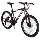26 Bike MTB Mountain Bike 21 Speed Aluminium Frame School Bicycle
