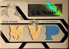 2008 Triple Threads Stan Musial White Whale Autograph Auto 1 1 Bat Jersey Card!!