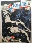 Original Vintage German Marlene Dietrich The Blue Angel Poster Linen Backed