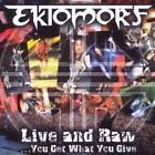 Live & Raw You Get What You Give - Ektomorf DVD / CD COMBO SET