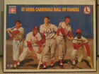 Autographed Signed St.Louis Cardinals Hall Of Fame Baseball Poster Vintage HOF