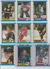 1989-90 O-Pee-Chee Hockey U-pick NM you pick stars RC rookie HOF OPC