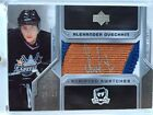 2006-07 UD THE CUP SCRIPTED SWATCHES ALEXANDER OVECHKIN AUTO - 18 25