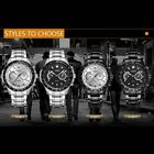 CURREN 8020 Business Quartz Watch Men Stainless Steel watch Mens Watches FO