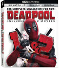 Deadpool The Complete Collection For Now New 4K UHD Blu ray 4K Ma
