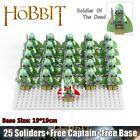 26Pcs Soldier of the Dead Pirate Ship Lord of the Rings Lego Minifigure Toys