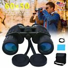 60x50 Day Night Military Army Zoom Powerful Binoculars Optics Hunting Camping