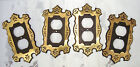 Black Mid Century Hollywood Regency Switch Plate Cover