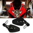 Super Motorcycle 7 8 Handle Bar End Mirrors For For Suzuki GSXR 1000 750 600 US