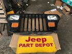 1987 1995 JEEP WRANGLER YJ GRILL WITH LIGHTS OEM