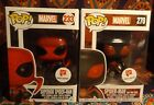 2 Funko POP! MARVEL Walgreen's Exclusive BIG TIME SUIT & SUPERIOR SPIDER-MAN