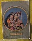 VINTAGE DECORATIVE WALL HANGING LITHO PRINT WITH SIGNATURE BY RAVI VERMA
