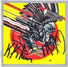 JUDAS PRIEST Screaming for Vengeance, ROB HALFORD KK Downing +1 Autograph SIGNED