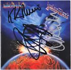 JUDAS PRIEST Ram It Down - ROB HALFORD K.K. Downing Ian Hill CD Autograph SIGNED