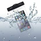 Waterproof Case Underwater Transparent Bag Pouch with Touch fits T-Mobile HTC On
