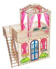 Wooden Kit Doll House Dream for big dolls 25-30 cm high of the BarFie 3D Puzzle