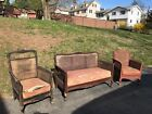 2 Side Chairs Wooden