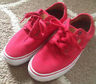 Youth Boys Vans Chima Ferguson Ultra Crush Size 65 Red Sneakers Skate Shoes