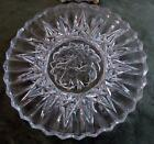 3 Vintage Luncheon Plates Federal Cut Glass Pioneer 8