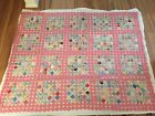 BEAUTIFUL YoYo Quilts- Fabrics-Full Size-Mint Vintage CondItion-RARE-2 available