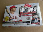 2017 Topps Archives Signature Series Active Player Edition Box